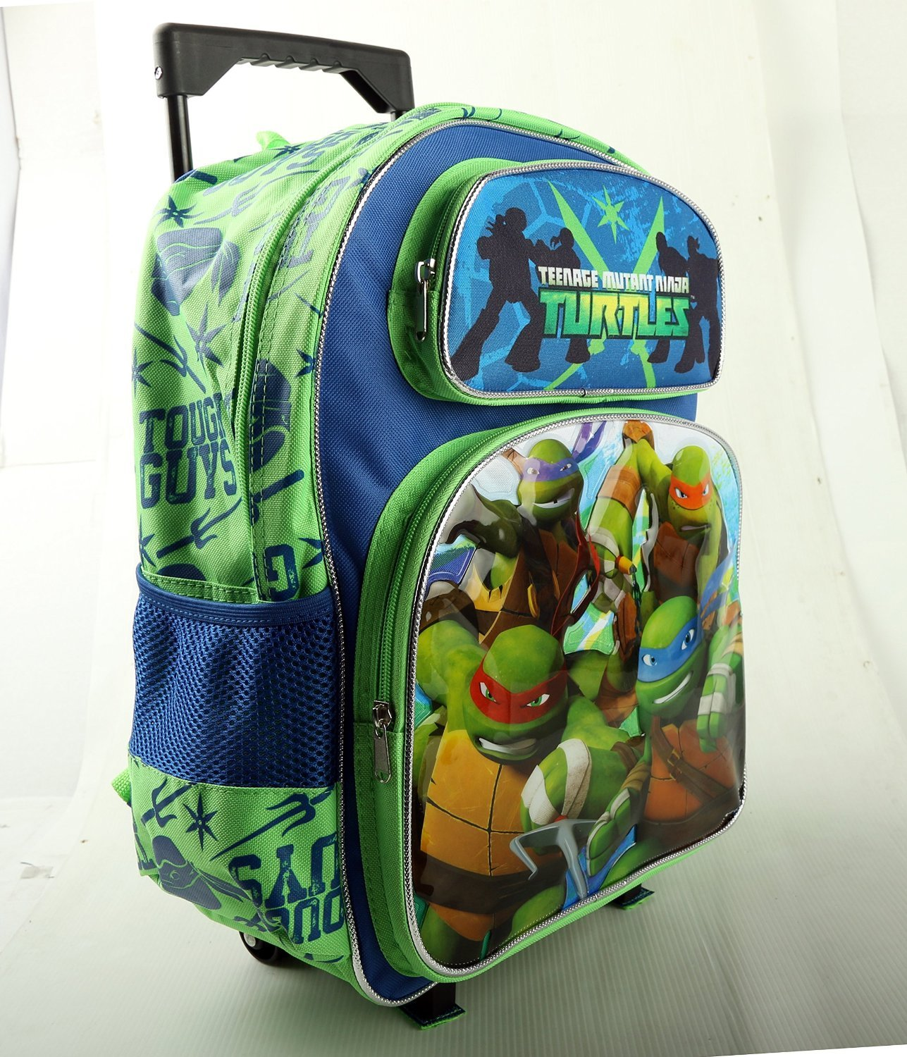 2015 grand trolley cartable a roulettes tortue ninja sac a dos 40cm x 30 cm primaire amazonfr sports et loisirs - Cartable Tortue Ninja