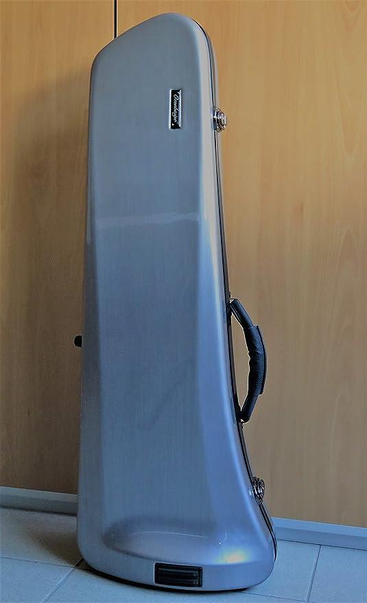 ESTUCHE TROMBON - Omebaige Smart Color Gris Oscuro (Dark Grey): Amazon.es: Instrumentos musicales
