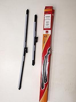 Accesorios 8671018240 Jue de Dos Escobillas Limpiaparabrisas: Amazon.es: Coche y moto