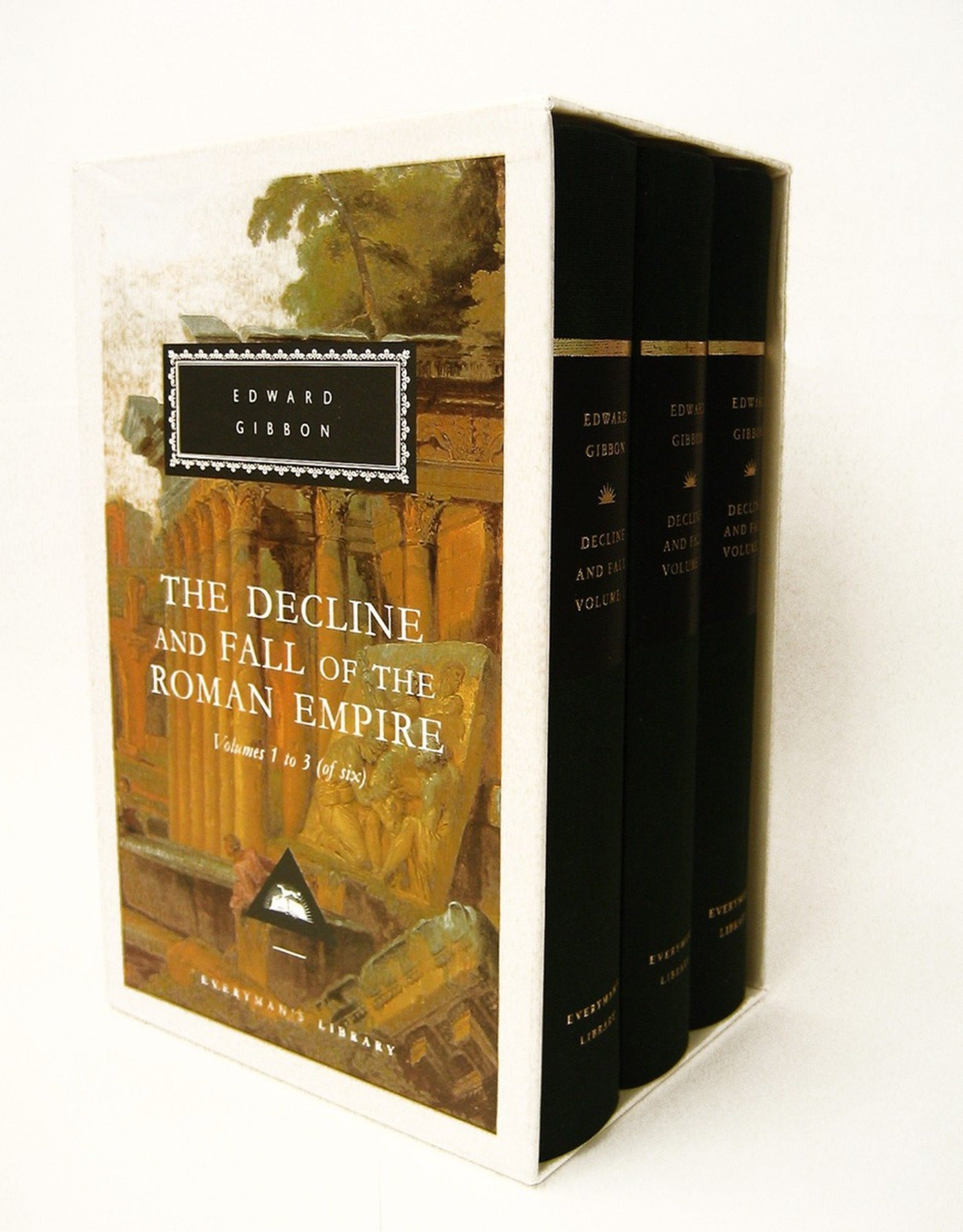 The Decline and Fall of the Roman Empire: Volumes 1-3 of 6 (Everyman's Library) by Brand: Everyman's Library
