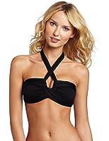 Seafolly Women's Bandeau Halter Bikini Top Swimsuit