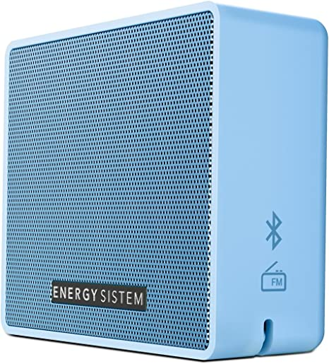 Energy Sistem Box 1+ Altavoz inalámbrico portátil con Bluetooth (5 W, microSD MP3, FM Radio, Audio-In): Amazon.es: Electrónica
