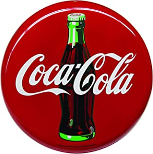 "Tablecraft Coca Cola Sign - 16"" Round"