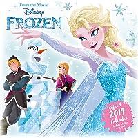 Disney Frozen Official 2019 Calendar - Square Wall Calendar Format