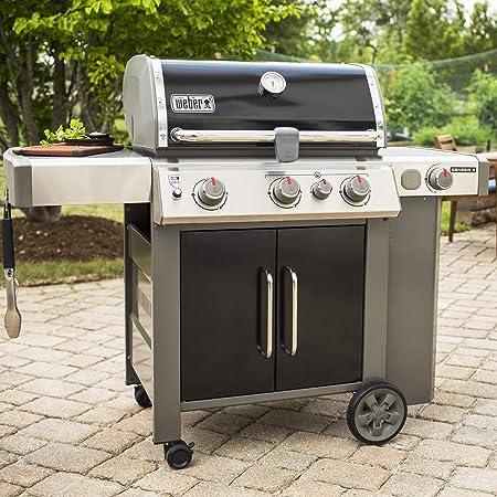 Amazon Com Weber Genesis Ii Se 335 3 Burner Bla Garden Outdoor