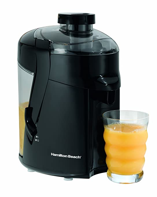 Hamilton Beach 67801 Health Smart Juice Extractor, Black