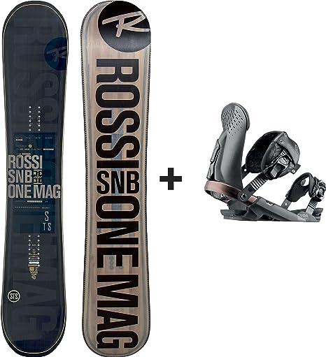 Rossignol – Pack Snowboard One MagTek Wide + Cuda V1 M/L Negro ...
