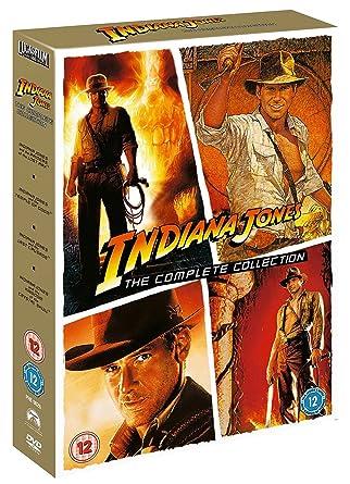 Indiana Jones - The Complete Collection Edizione: Regno Unito Reino Unido DVD: Amazon.es: Indiana Jones: Cine y Series TV