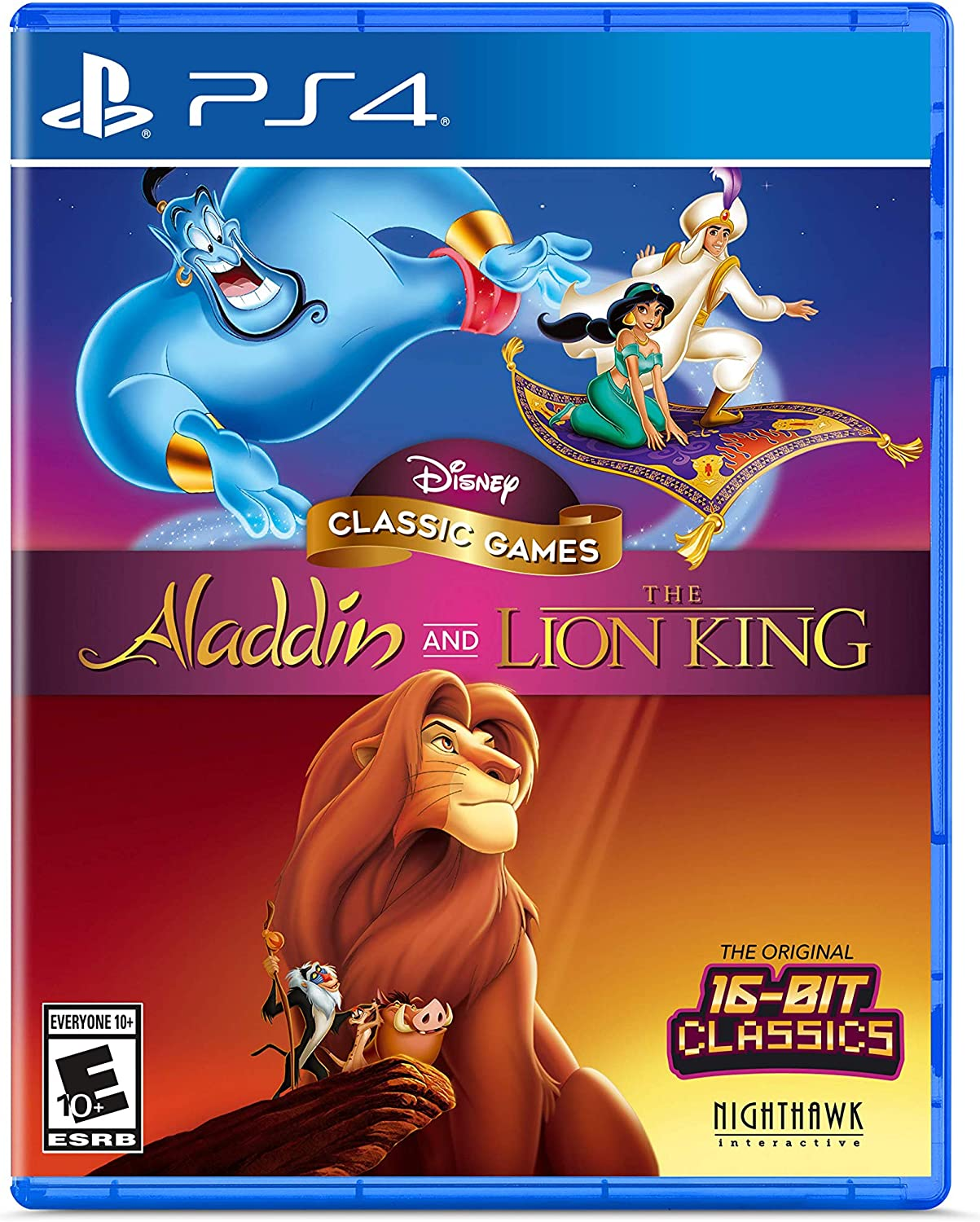 Amazon.com: Disney Classic Games: Aladdin and The Lion King ...