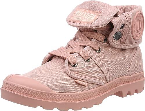 Palladium Us Baggy Womens Grey Canvas Boots Size UK 3-8