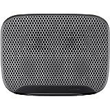 Belkin CoolSpot Anywhere Ultra F5L103bt - Base de refrigeración para portátil (dos ventiladores, muy silenciosa, diseño ondulado, ergonómica para mayor comodidad, puerto USB), negro