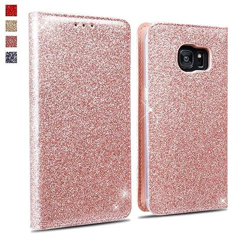 OKZone Funda Galaxy S7, Cárcasa Lujosa Brilla Glitter ...