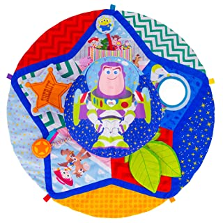 Lamaze Disney/Pixar Toy Story Spin and Explore Tummy Time Baby Play Mat