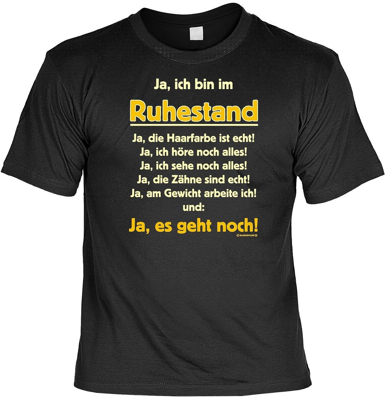 Lustige Rentner Spruche Fun Tshirt Ja Ich Bin Im Ruhestand Ja