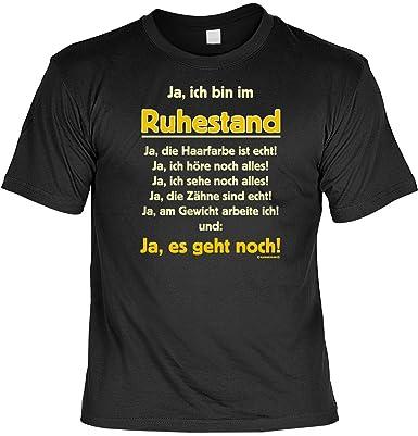 Lustige Rentner Spruche Fun Tshirt Ja Ich Bin Im Ruhestand Ja Es