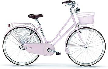 MBM Moonlight - Bicicleta para Hombre sin Cambios, Mujer, Moonlight, Nude: Amazon.es: Deportes y aire libre