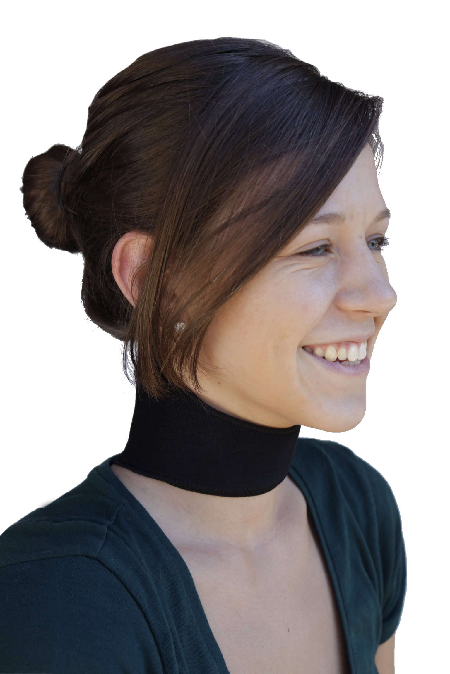 Neck Support - Dual Magnetic and Tourmaline Technology - Adjustable Fit