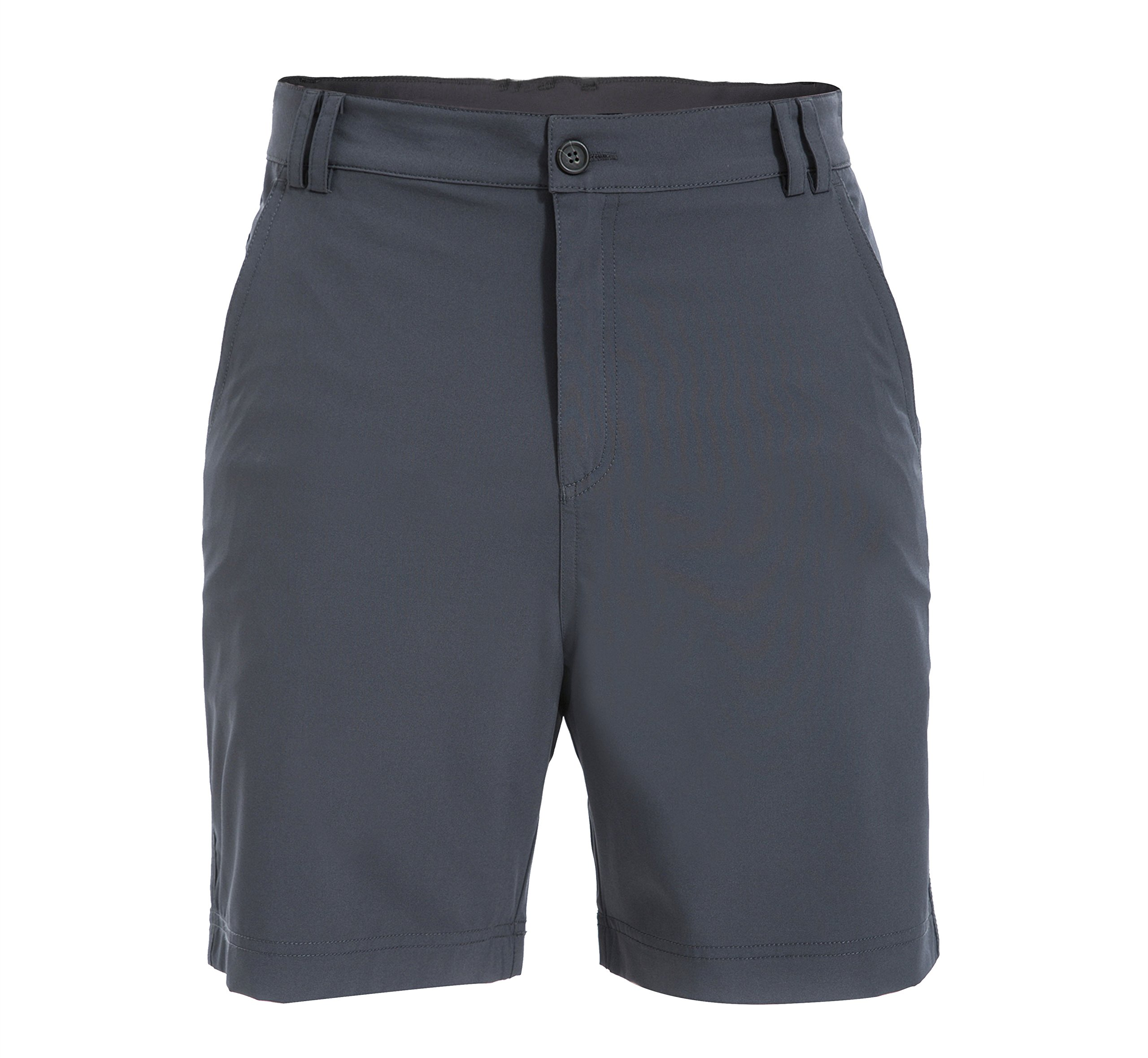 Trailside Supply Co. Big Boys' Ripstop Basic Stretchy Casual Short-Charcoal-16