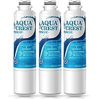 AQUACREST DA29-00020B NSF 53&42 Certified Refrigerator Water Filter, Compatible with Samsung DA29-00020B, HAF-CIN EXP, DA29-00020A/B, DA97-08006A, RF28HMEDBSR, RF4287HARS, RF263TEAESG, RH22H9010SR (3 Pack)