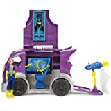 DC Super Hero Girls DVG94 Batgirl with Headquarters Vehicle