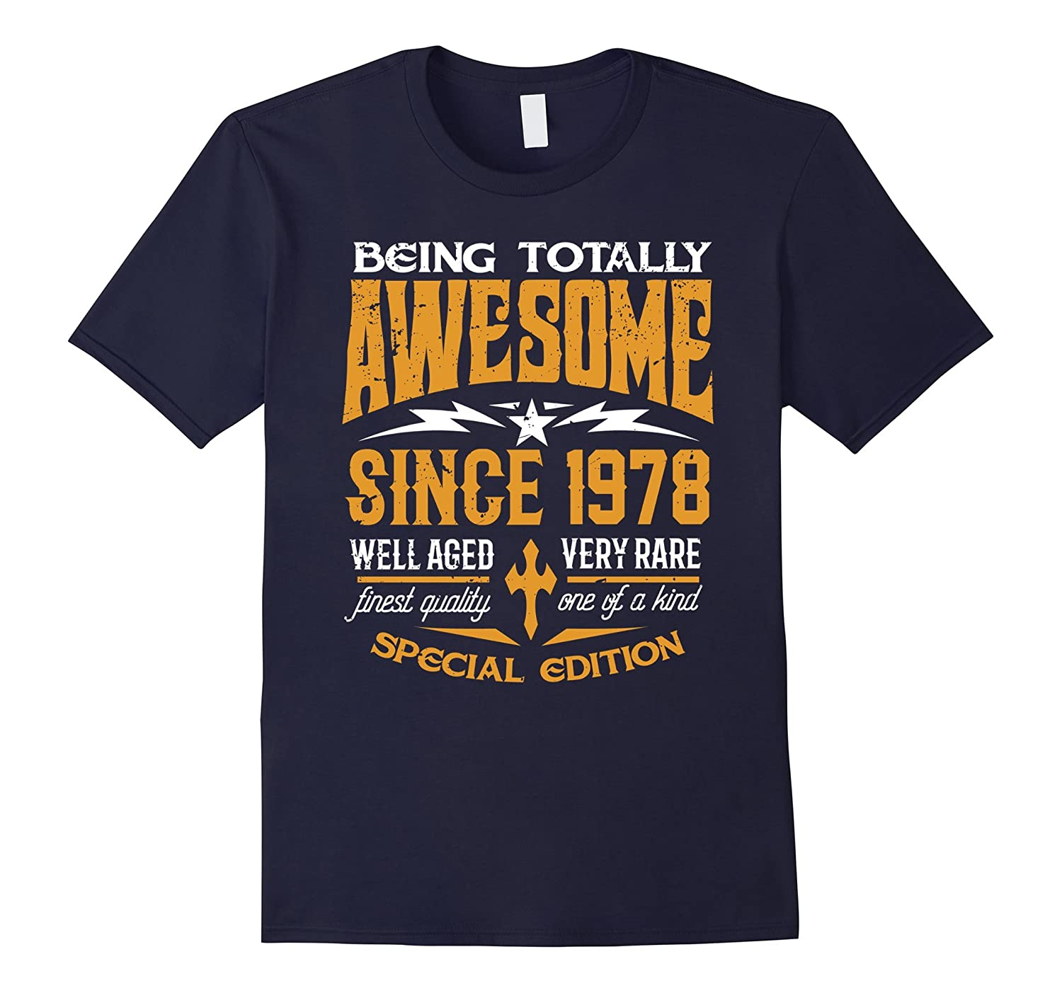 39th Birthday Gift T-Shirt Awesome Since 1978 Shirt-Art