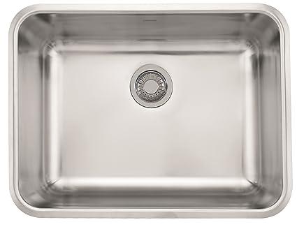 franke gdx11023 grande 24 3 4 x 18 3 4 x 9 18 gauge undermount rh amazon com franke stainless steel undermount double bowl kitchen sinks franke ariane arx 160 stainless steel undermount kitchen sink and accessories