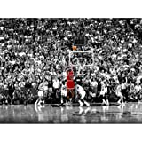 Michael Jordan Sports Poster Print Poster Old Photo large wall art canvas paintings Office Decoration Stretched Ready to hang 32 x 24 inch