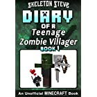 Diary of a Teenage Minecraft Zombie Villager - Book 1: Unofficial Minecraft Books for Kids, Teens, & Nerds - Adventure Fan Fi