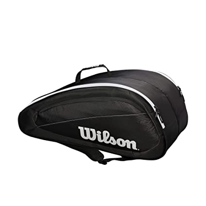 2d03efe2a5bf Amazon.com   Wilson Fed Team 12 Pack Tennis Bag