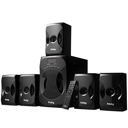 6a4aa81fc64 Amazon.com  Frisby 5.1 Surround Sound Home Theater System with ...
