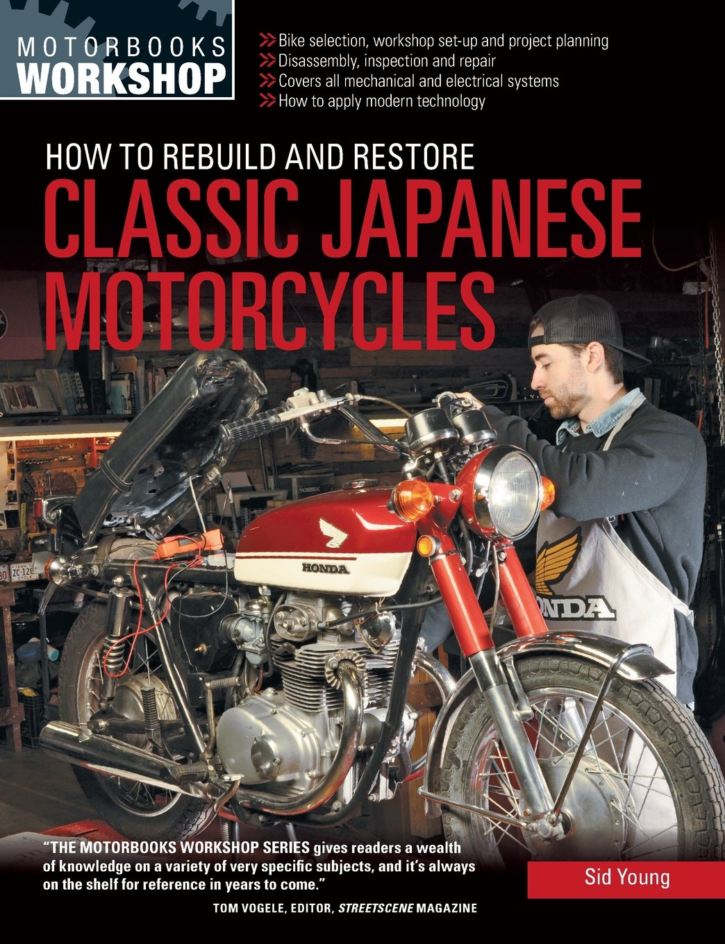 How to rebuild and restore classic japanese motorcycles how to rebuild and restore classic japanese motorcycles motorbooks workshop sid young 9780760347973 amazon books fandeluxe Gallery