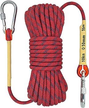 Cuerda de Escalada en Roca para Exteriores, 10 mm, Equipo de ...