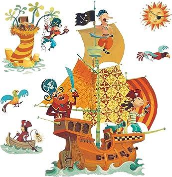 Stickers El Barco Pirata: Amazon.es: Hogar