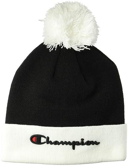 c6b86aba12e Amazon.com  Champion LIFE Men s Script Knit POM