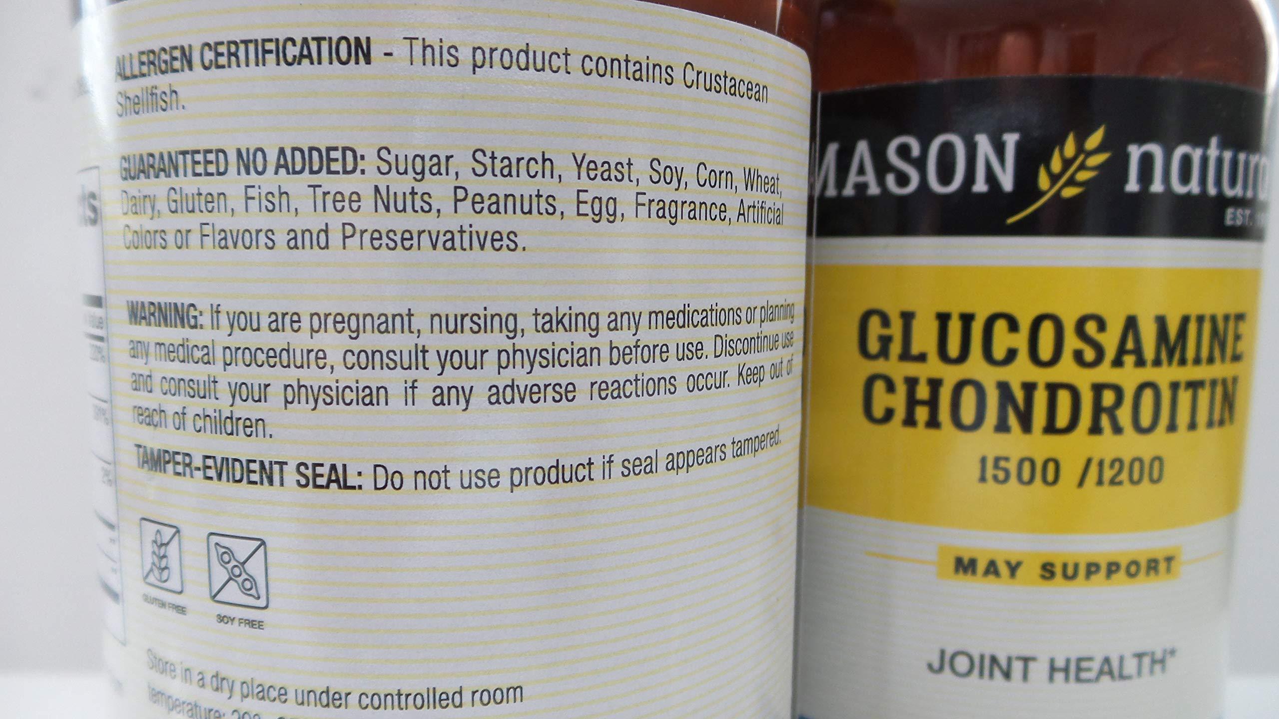 Mason Glucosamine/Chondroitin Maximum Strength 280 Capsules