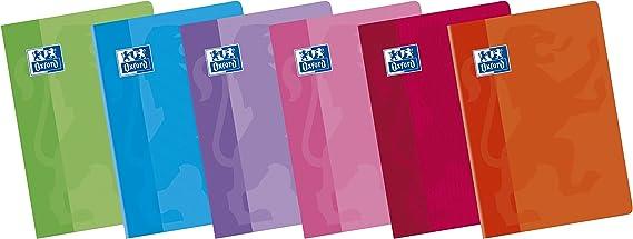Oxford Classic 100105702 - Pack de 10 libretas grapadas de tapa blanda, A5+: Amazon.es: Oficina y papelería