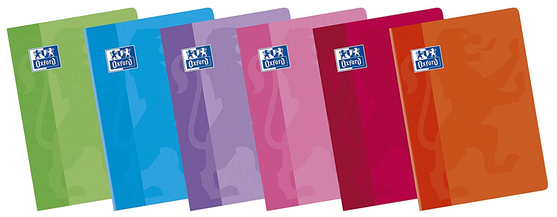 A4 Pack de 10 libretas grapadas de tapa blanda Oxford Classic 100101228