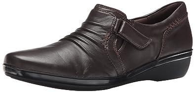 Clarks Everlay Coda Womens Dark Brown Leather