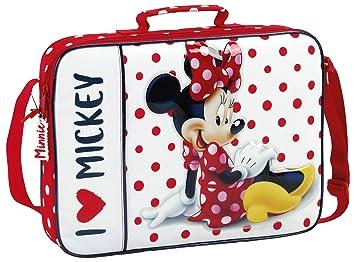 Minnie Mouse - Cartera Bandolera extraescolares (SAFTA 611748385): Amazon.es: Equipaje