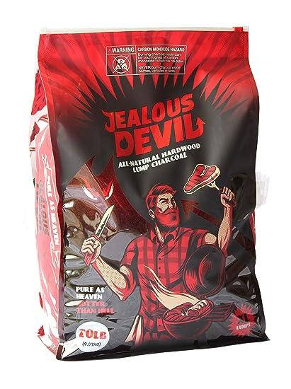 Amazon.com: Jealous Devil - Carbón vegetal de madera dura ...