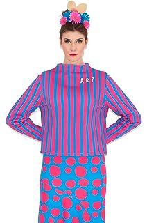 Agatha Ruíz de la Prada Camiseta Rayas Fucsia/Azul