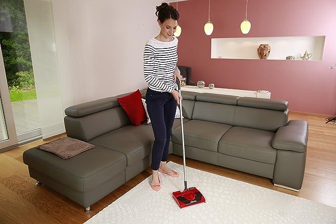 Vileda 123186 - Escoba eléctrica inalámbrica y recargable, práctica y ligera, apta para cualquier superficie (importado de Italia, instrucciones en ...