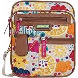 Lily Bloom Gigi Cross Body Messenger Bag