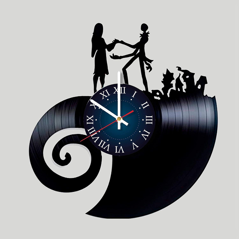 Nightmare Before Christmas Vinyl Record Wall Clock - Kids Room wall ...