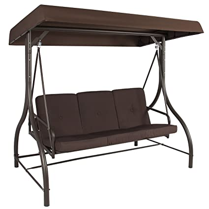 Amazon Com Best Choice Products 3 Seat Converting Outdoor