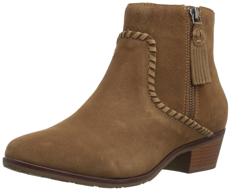 Jack Rogers Women's Dylan Waterproof Ankle Boot B06XMY6HLJ 9 B(M) US|Oak Suede