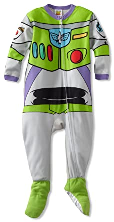Amazon.com  Disney Baby Boys  Here s Buzz Lightyear Blanket Sleeper ... f045778bf