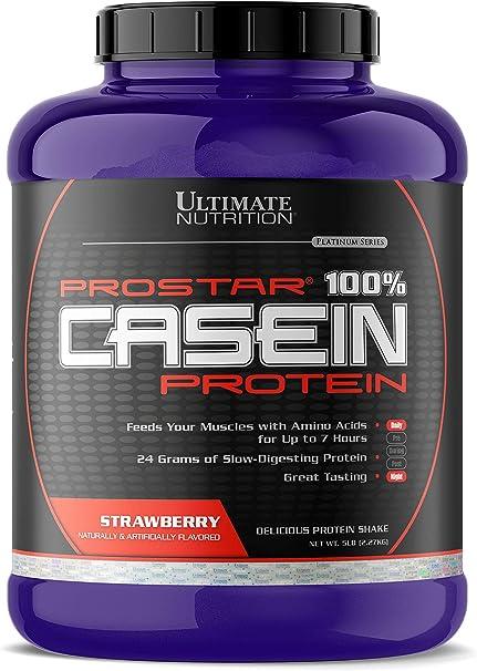 Prostar - 100% Casein Protein Strawberry 5 lbs