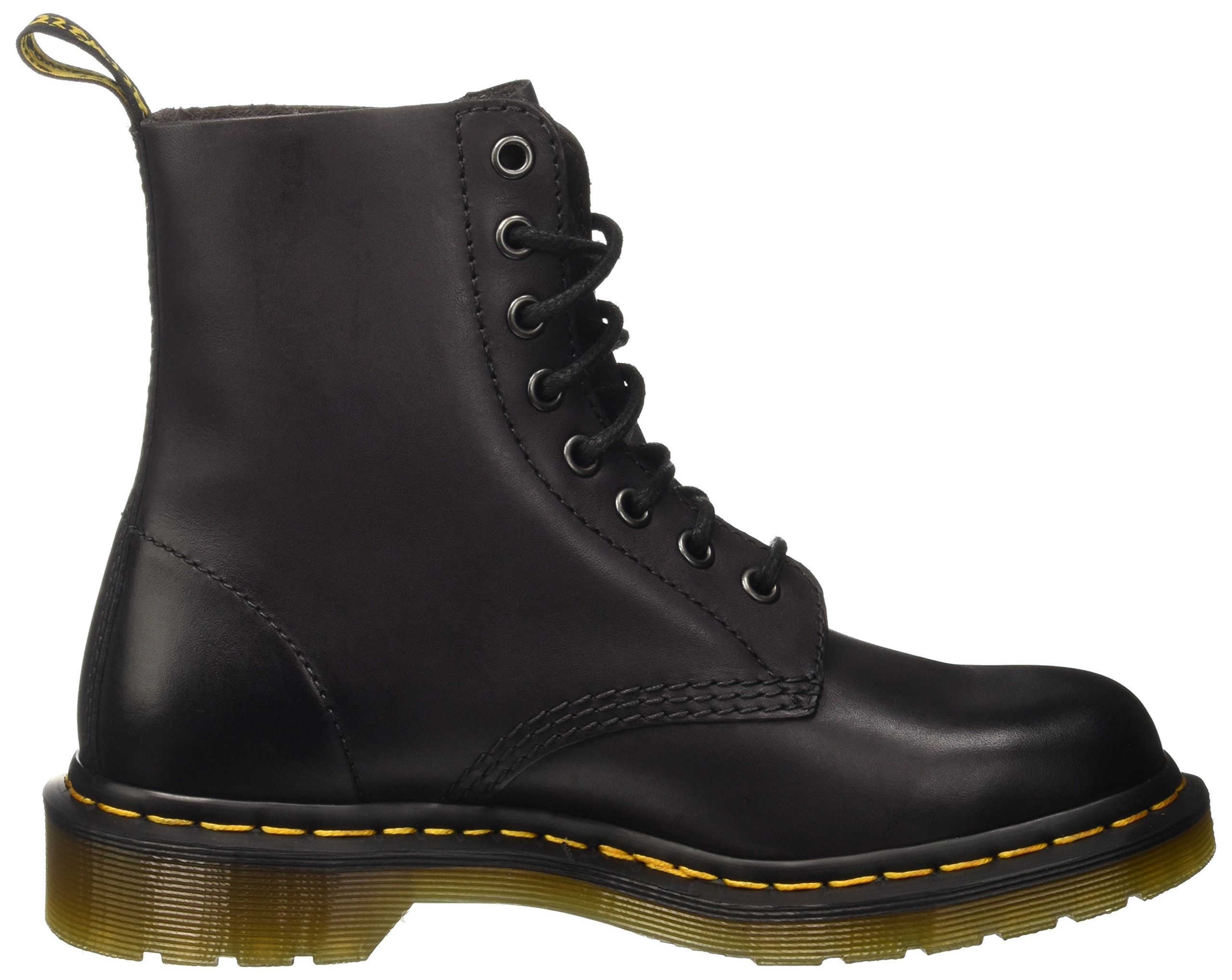 Dr. Martens Pascal 8 Eye Boot Boot, Charcoal Antique Temperley, 9 Medium UK (Men's 10 US) by Dr. Martens (Image #5)