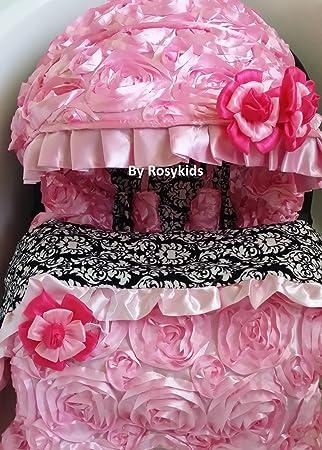 Amazon.com: Infant carseat Cubierta Manta 4 pieza Conjunto ...